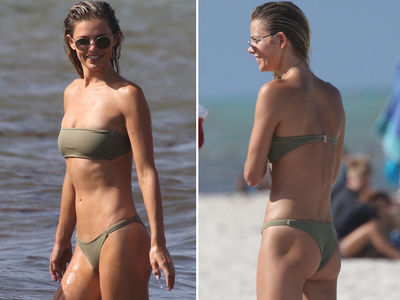 Model Danielle Knudson Celebrates 29th Birthday in a Bikini