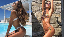 Izabel Goulart's Beachin' Getaway -- Scope Out Model In Mykonos!