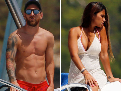 Lionel Messi Yachting Away the Pain After World Cup Loss