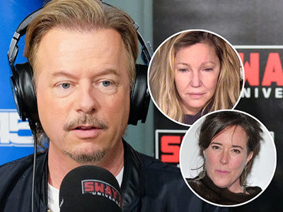 Spade Speaks Out on Troubled Ex Heather Locklear & Opens Up About Kate Spade's Suicide