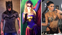 Geek Out For Comic-Con 2018 With These Stars In Cosplay!