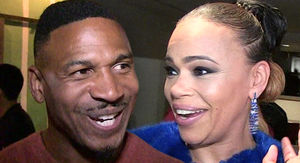 Faith Evans and Stevie J Apply for Marriage License in Las Vegas