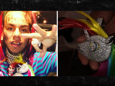 Tekashi69's $95k 'My Little Pony' Chain Has Real Human Hair
