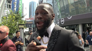 Deontay Wilder Wants To Pummel Anthony Joshua For America