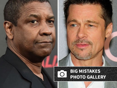 Denzel Admits He Passed on This HUGE Brad Pitt Role -- and Knows It Was a Terrible Decision!