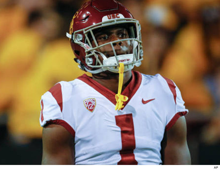 Ex-USC wide receiver Joseph Lewis arrested again