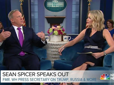 Megyn Kelly SPARS with Sean Spicer Over Telling Lies For President Trump