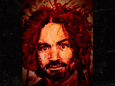 Charles Manson Painting Made of Blood and His Ashes Will be Auctioned Off