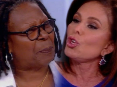 Whoopi EXPLODES on Judge Jeanine Pirro on 'The View' -- and This Got NASTY!