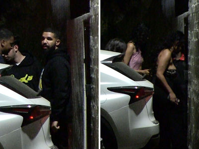 Drake Leads Parade of Smoking Hot Chicks in WeHo