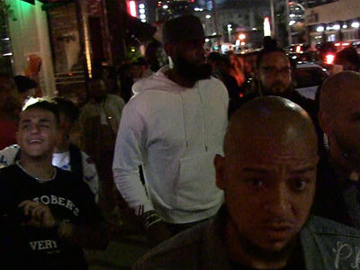 LeBron James Hollywood Partying with Kevin Durant, 'Welcome to L.A.'