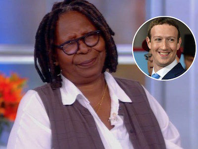 Whoopi NARROWLY AVOIDS F-Bomb While TEARING Into Zuckerberg Over Holocaust Comments