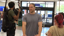 Clay Matthews Ready for His Closeup After Softball Injury Face Surgery