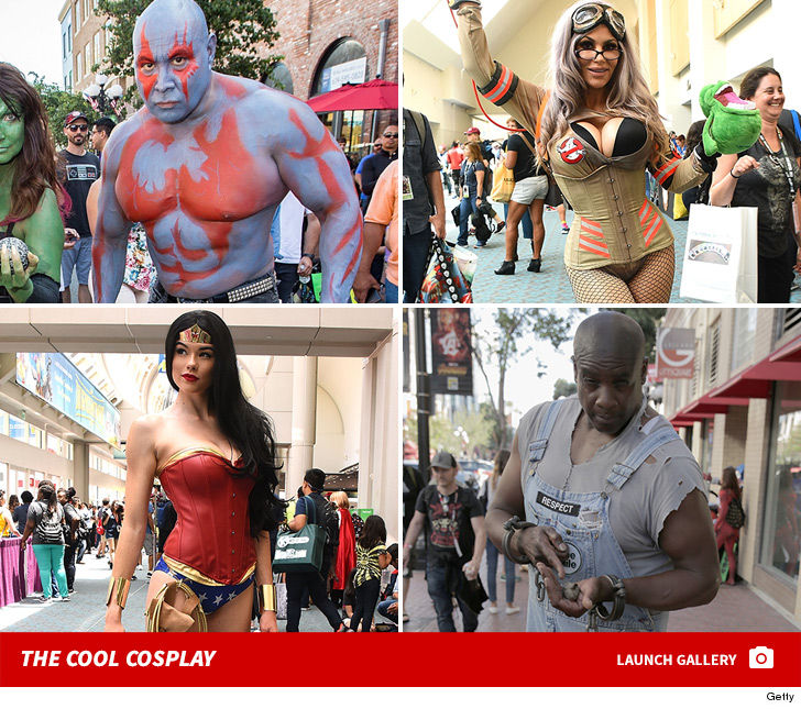 Comic Con 2018 Cosplay Attendees Amp Things Up On Day 1 Tmz Com