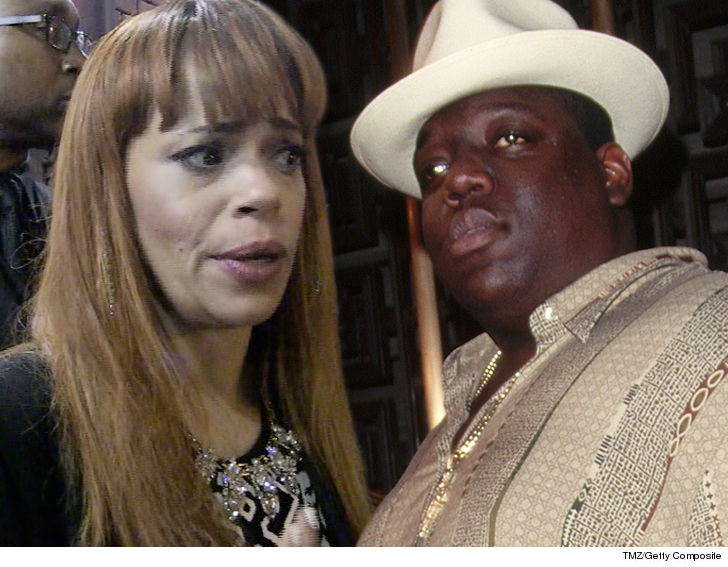 Faith Evans Married Notorious B I G In 94 But You Wouldn T Know It Based On Her Recent Marriage License Makes No Mention Of To The