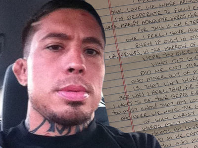 War Machine Wrote to Pen Pal Fiancee 'I Wish I Could Die For You'