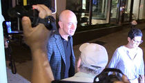 Jeff Bezos Triggers Paparazzi Firestorm Leaving Dinner