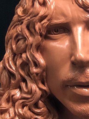 Chris Cornell Sculpture