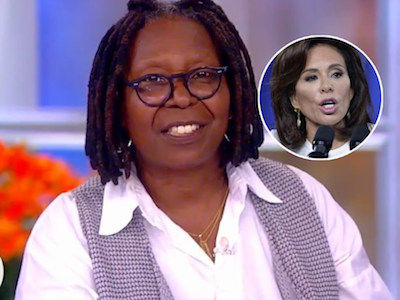 Whoopi DISPUTES Jeanine Pirro's 'Abuse' Claim on 'The View' -- She CALLED US a Nasty Name