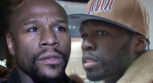 Floyd Mayweather Goes Off on 50 Cent, Calls Him a Broke, Jealous Snitch