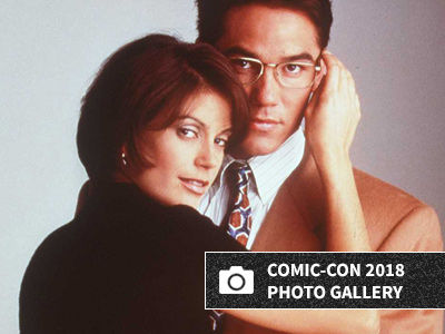 Teri Hatcher Dresses as Lois Lane at Comic-Con -- And WOW, Wait'll You See Her Now!