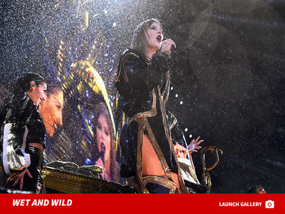 Taylor Swift Gets Soaked in New Jersey During 'Reputation' Concert