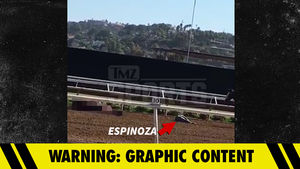 Jockey Victor Espinoza Injured After Horse Dies Training at Del Mar