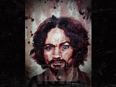 Charles Manson's Blood & Ashes Painting Going to Haunted Museum
