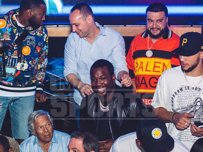 Ben Simmons Rages with Robert Kraft and Meek Mill in Vegas for Birthday