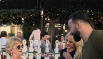 Pam Anderson Introduces French Soccer Star BF Adil Rami to Mom