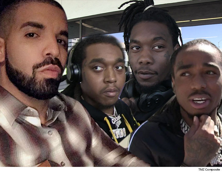 Drake and Migos push back the tour « Kanye West Forum