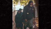 Kendrick Lamar Dwarfed by Massive Bodyguard
