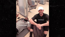 LeBron James Training with Kevin Love, No Bad Blood!