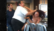McDonald's Staffer Pummels Customer in Crazy Fight