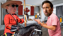 Nicolas Cage and GF Get Loud in Rockies, Canadian Mounties Called