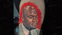Chicago Bulls Fan Gets Epic 'Crying Jordan' Tattoo