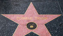 Donald Trump's Walk of Fame Star Won't Be Removed Despite Violence