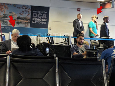 Robert Mueller and Donald Trump Jr. in Near Collision at D.C. Airport