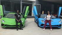 Cardi B Shows Off Her Post-Baby Bod with Offset, and 2 Lamborghinis