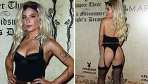 Halsey Hosts Playboy's Midsummer Night's Dream Party in Vegas