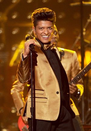Bruno Mars Performance Photos