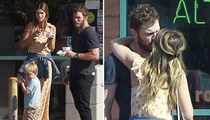 Chris Pratt & Katherine Schwarzenegger Kiss After Church with Son Jack Nearby