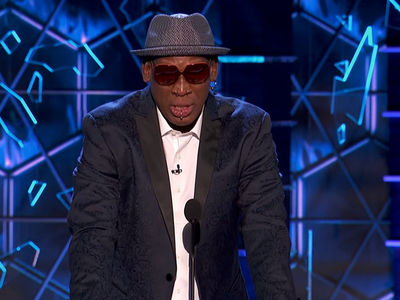 Dennis Rodman Drops Kim Jong-un Bomb Joke at Bruce Willis Roast