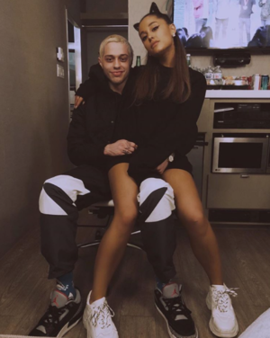 Ariana Grande and Pete Davidson Together