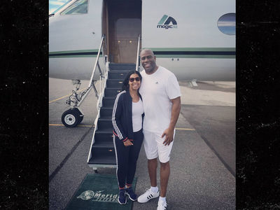 Magic Johnson Embarks On Annual $3 Mil Yacht Vacation!
