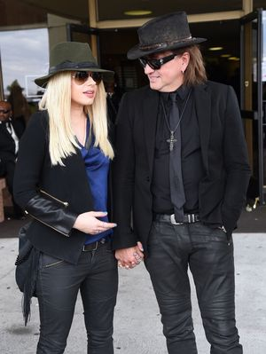 Richie Sambora and Orianthi Together