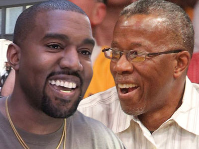 Kanye West Bonding with His Father During Cancer Treatment