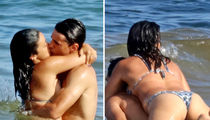 Gina Rodriguez and Possible Fiance Have Makeout Session in Mexico