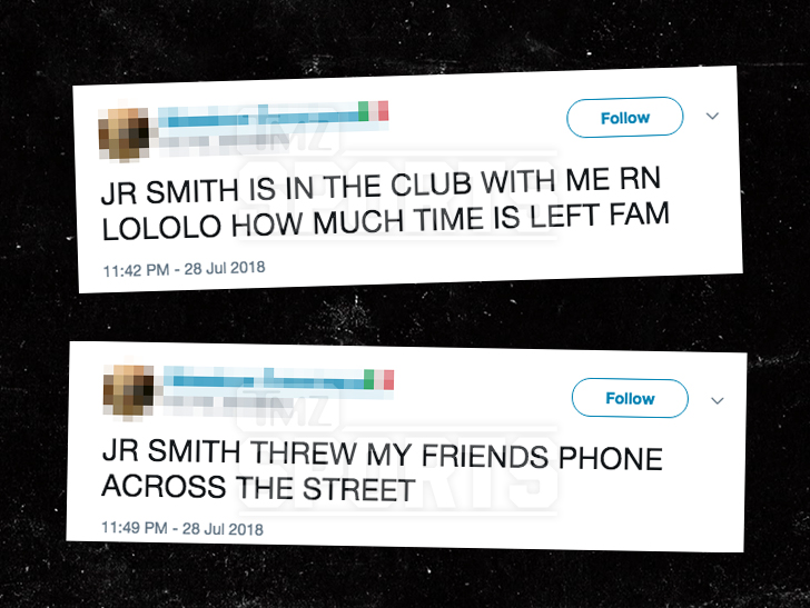 0801 jr smith twitter 3 - J.R. Smith Under NYPD Investigation, Allegedly Stole and Chucked Cell Phone