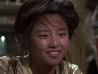 Kumiko in 'The Karate Kid Part II' 'Memba Her?!